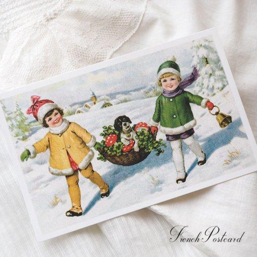 フランスポストカード ( Petit bonheur)【画像4】