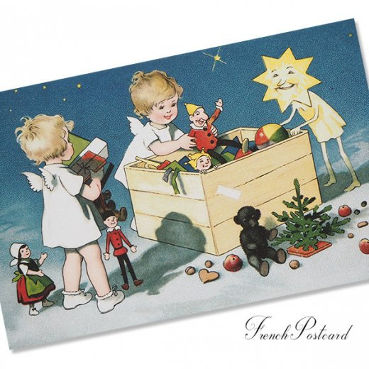 フランスクリスマス ポストカード (Recettes secretes B)【画像2】
