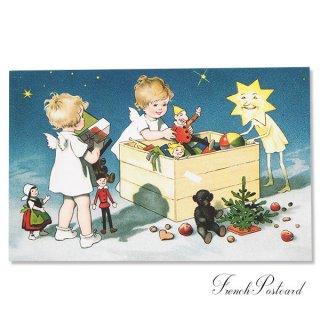 フランスクリスマス ポストカード (Recettes secretes B)