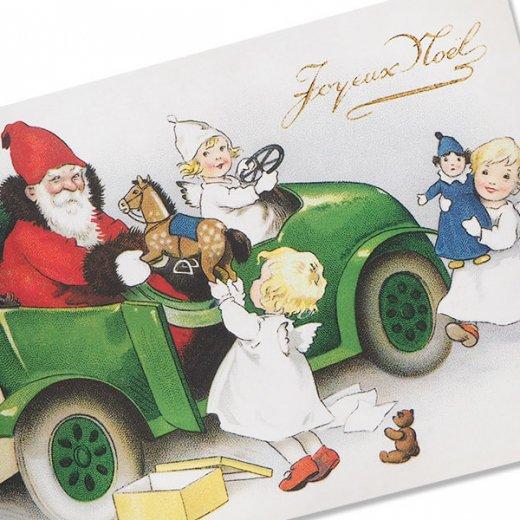 フランス クリスマス ポストカード (Joyeux Noel P)【画像2】