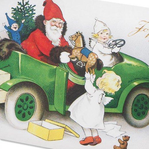 フランス クリスマス ポストカード (Joyeux Noel P)【画像3】