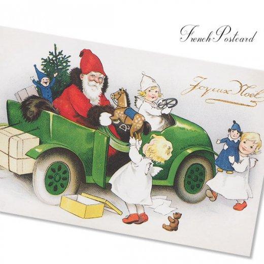 フランス クリスマス ポストカード (Joyeux Noel P)【画像4】