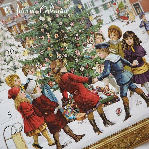 ドイツ クリスマス アドヴェントカレンダー【L】<ビクトリア朝>【画像3】