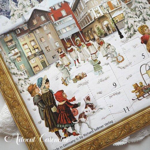 ドイツ クリスマス アドヴェントカレンダー【L】<ビクトリア朝>【画像4】
