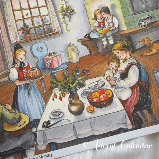 ドイツ クリスマス アドヴェントカレンダー【M】<House>【画像3】