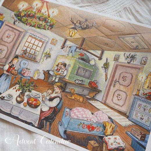 ドイツ クリスマス アドヴェントカレンダー【M】<House>【画像4】