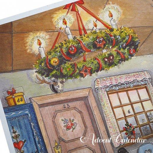 ドイツ クリスマス アドヴェントカレンダー【M】<House>【画像6】