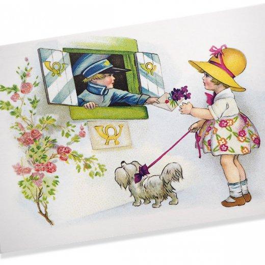 フランス ポストカード  (fleurs printanieres)【画像2】