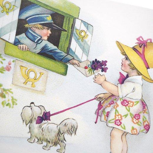 フランス ポストカード  (fleurs printanieres)【画像3】