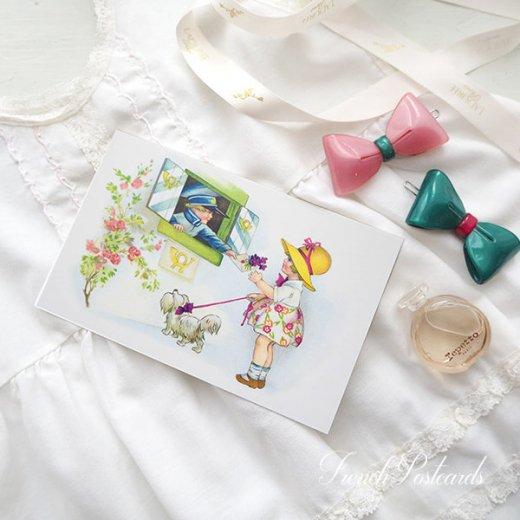 フランス ポストカード  (fleurs printanieres)【画像4】