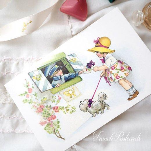 フランス ポストカード  (fleurs printanieres)【画像5】