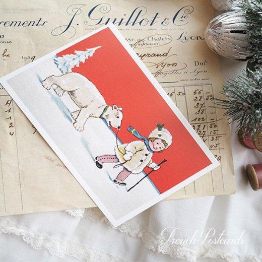 フランス クリスマス ポストカード (Couverture de neige)【画像4】