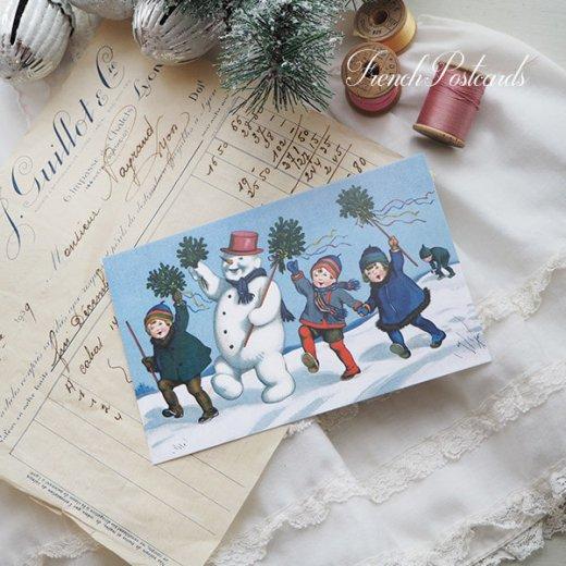 フランス クリスマス ポストカード (ensemble)【画像5】