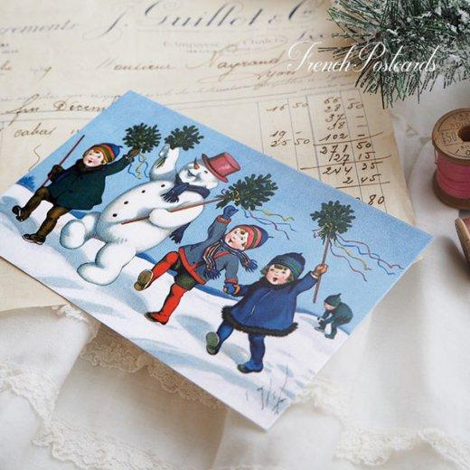 フランス クリスマス ポストカード (ensemble)【画像6】