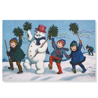 フランス クリスマス ポストカード (ensemble)