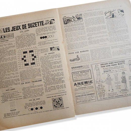 フランス La Semaine de Suzette(アンティーク週間誌  0)【画像8】