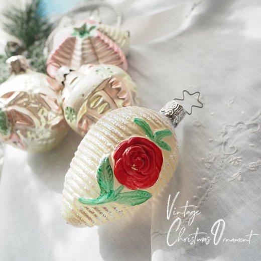 USA アンティーク ガーリークリスマス オーナメント C【4ケset】【画像2】