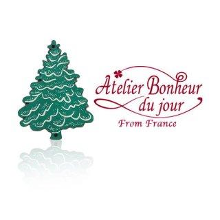 輸入ボタン アトリエ・ボヌール フランス輸入ボタン アトリエ・ボヌール・ドゥ・ジュール【クリスマス・グリーンツリー】