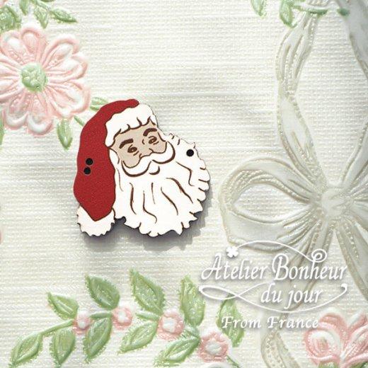 フランス輸入ボタン アトリエ・ボヌール・ドゥ・ジュール【クリスマス・サンタクロース】【画像5】