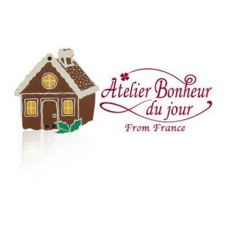 フランス輸入ボタン アトリエ・ボヌール・ドゥ・ジュール【お菓子のお家】