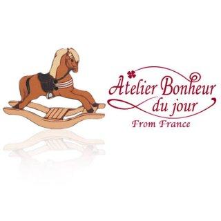 アトリエボヌールドゥジュール フランス輸入ボタン アトリエ・ボヌール・ドゥ・ジュール【ロッキングホース 木馬】