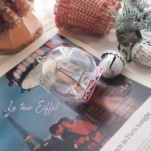 グッドウィル GOODWILL ベルギー直輸入 オーナメント 【エッフェル塔ドーム】クリスマス・バレンタインデー【画像8】