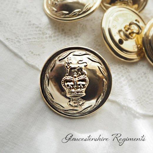 【単品売り】デッドストック ヴィンテージ イギリス ボタン 紋章(手芸素材/手芸用品)【画像2】