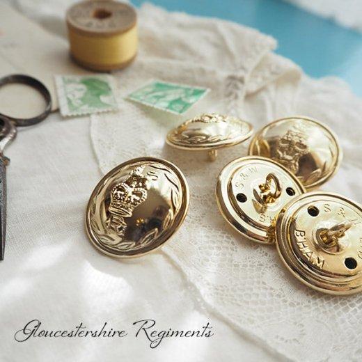 【単品売り】デッドストック ヴィンテージ イギリス ボタン 紋章(手芸素材/手芸用品)【画像3】