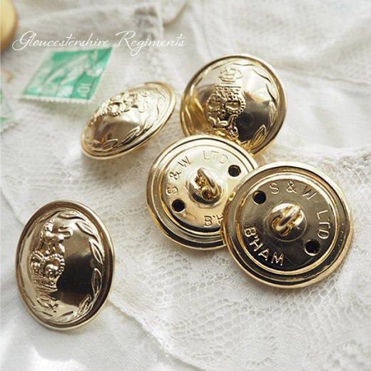 【単品売り】デッドストック ヴィンテージ イギリス ボタン 紋章(手芸素材/手芸用品)【画像4】