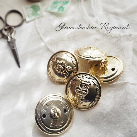 【単品売り】デッドストック ヴィンテージ イギリス ボタン 紋章(手芸素材/手芸用品)【画像5】