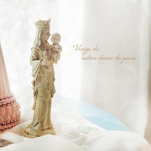 フランス直輸入 聖母子像 【Sサイズ】聖母マリア オブジェ ノートルダム大聖堂 寺院 スーベニア Notre-Dame de Paris souvenir
