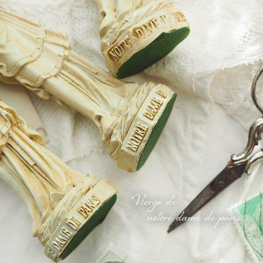 フランス直輸入 聖母子像 【Sサイズ】聖母マリア オブジェ ノートルダム大聖堂 寺院 スーベニア Notre-Dame de Paris souvenir【画像6】
