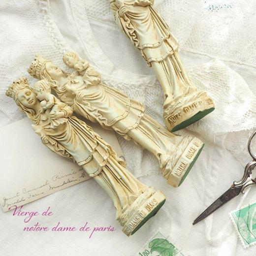 フランス直輸入 聖母子像 【Sサイズ】聖母マリア オブジェ ノートルダム大聖堂 寺院 スーベニア Notre-Dame de Paris souvenir【画像7】