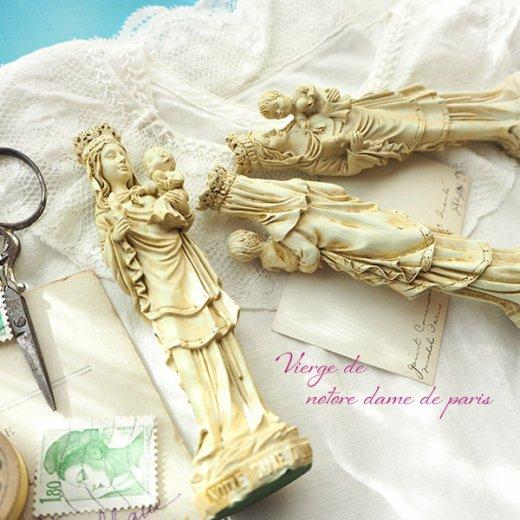 フランス直輸入 聖母子像 【Sサイズ】聖母マリア オブジェ ノートルダム大聖堂 寺院 スーベニア Notre-Dame de Paris souvenir【画像8】