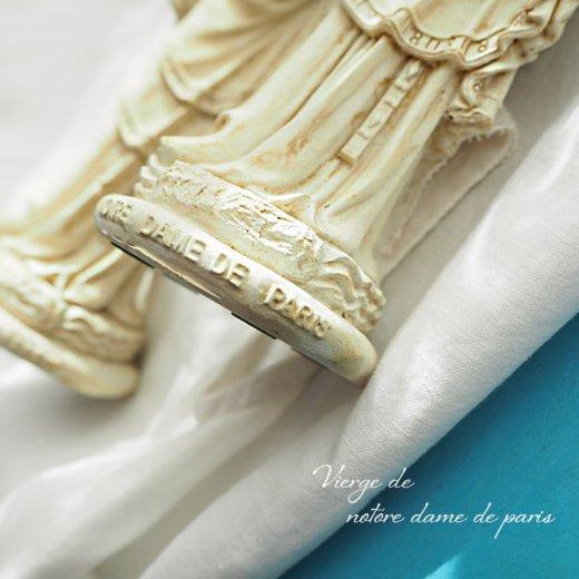 フランス直輸入 聖母子像 【Mサイズ】聖母マリア オブジェ ノートルダム大聖堂 寺院 スーベニア Notre-Dame de Paris souvenir【画像4】