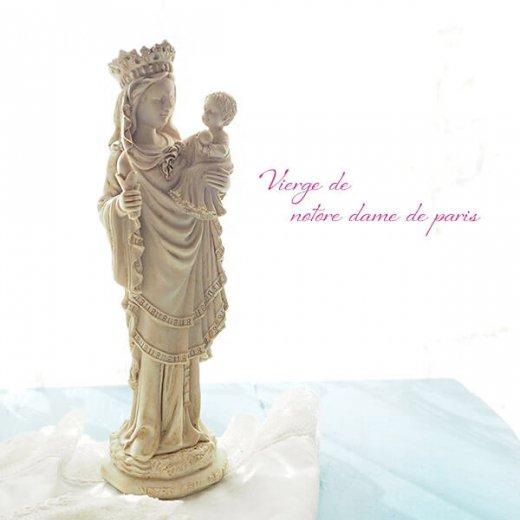 フランス直輸入 聖母子像 【Mサイズ】聖母マリア オブジェ ノートルダム大聖堂 寺院 スーベニア Notre-Dame de Paris souvenir【画像5】