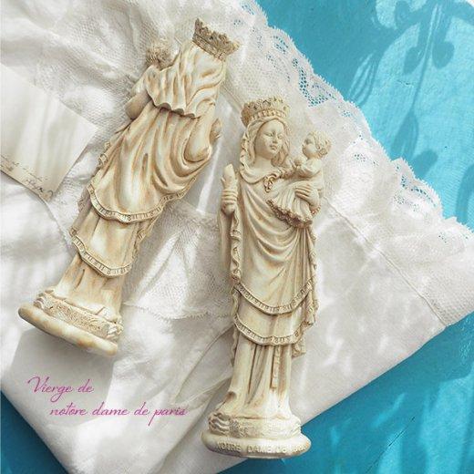 フランス直輸入 聖母子像 【Mサイズ】聖母マリア オブジェ ノートルダム大聖堂 寺院 スーベニア Notre-Dame de Paris souvenir【画像6】