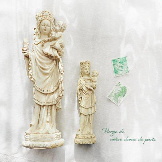フランス直輸入 聖母子像 【Mサイズ】聖母マリア オブジェ ノートルダム大聖堂 寺院 スーベニア Notre-Dame de Paris souvenir【画像7】