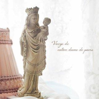 フランス直輸入 聖母子像 【Mサイズ】聖母マリア オブジェ ノートルダム寺院 スーベニア Notre-Dame de Paris souvenir
