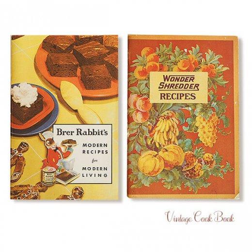 USA・1931年 レシピブック 2冊セット Brer Rabbit's(ヴィンテージ本)【画像5】