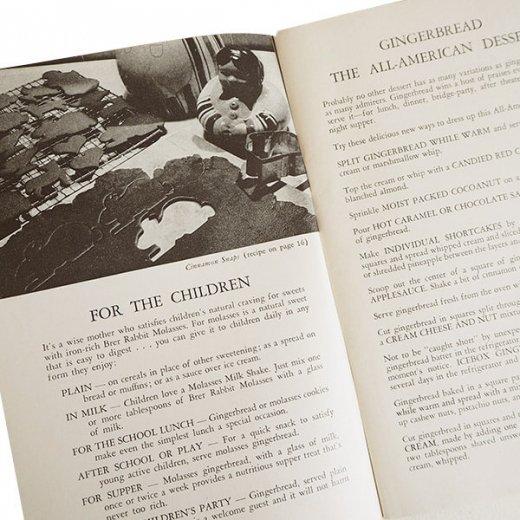 USA・1931年 レシピブック 2冊セット Brer Rabbit's(ヴィンテージ本)【画像6】