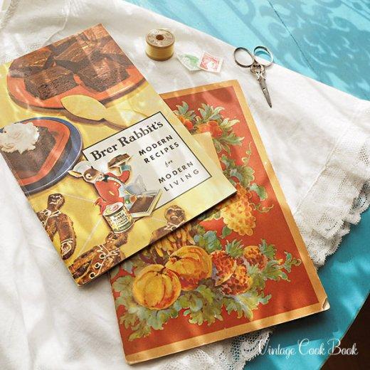 USA・1931年 レシピブック 2冊セット Brer Rabbit's(ヴィンテージ本)【画像10】