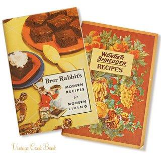 アンティーク USA・1931年 レシピブック 2冊セット Brer Rabbit's(ヴィンテージ本)