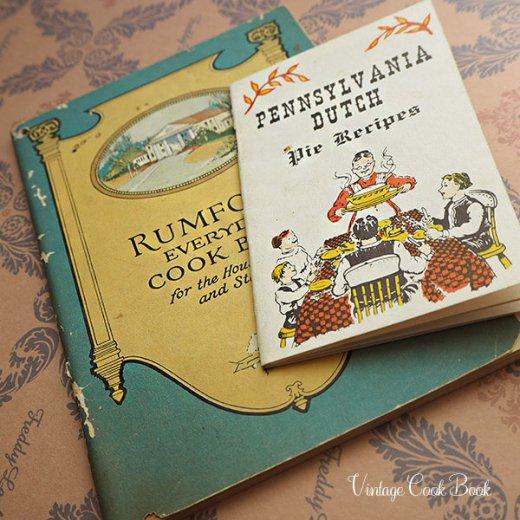 USA・1963年 レシピブック 2冊セット Pennsyvania dutch(ヴィンテージ本)【画像5】