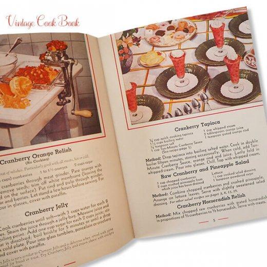 USA・1937,1950年 ベリー レシピブック 2冊セット(ヴィンテージ本)【画像3】