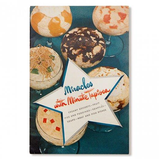 USA・1948年 Minute tapioca レシピブック(ヴィンテージ本)