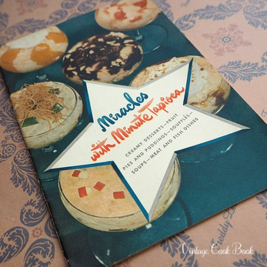 USA・1948年 Minute tapioca レシピブック(ヴィンテージ本)【画像5】