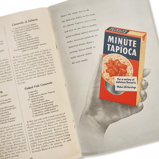 USA・1948年 Minute tapioca レシピブック(ヴィンテージ本)【画像6】