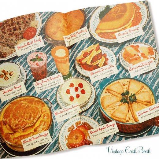 USA・1948年 Minute tapioca レシピブック(ヴィンテージ本)【画像7】