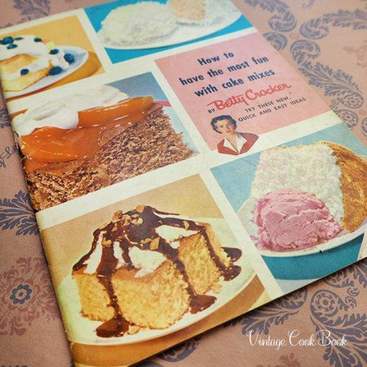 USA・Betty Crocker レシピブック(ヴィンテージ本)【画像2】